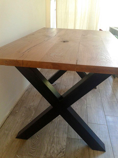 Houten tafel 2